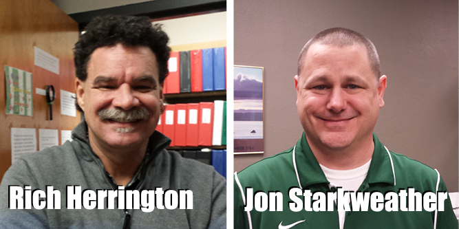 Photos of Rich Herrington and Jon Starkweather