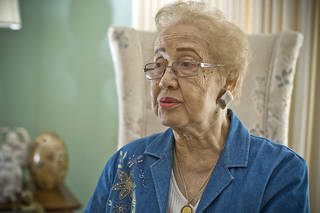 Katherine Johnson, research mathematician, NASA