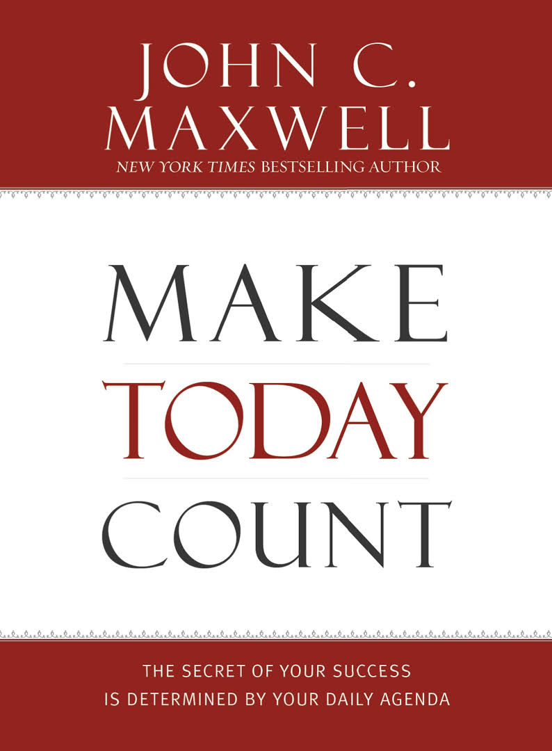 book cover of Make Today Count