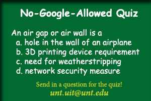 What is an air gap or an air wall? Click for the answer.